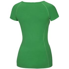 ded4c1a5eee Ocun Bamboo Meadow Shortsleeve Shirt Women green at Addnature.co.uk